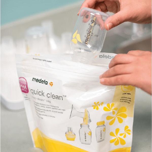 Medela Quick Clean Bags Nurturing Expressions 03
